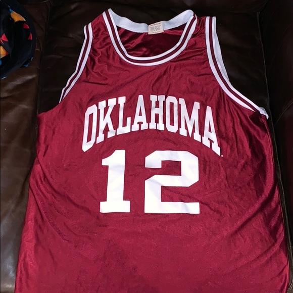 more photos 2b0a8 29f03 Vintage University of Oklahoma Basketball Jersey